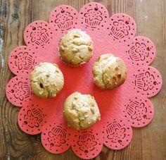 Sekrety Cookietki: Muffinki z masłem orzechowym i malinami