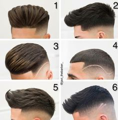All kinds of new trendy hair cuts, hair styles, beard styles, trendy. Trending Hairstyles For Men, Mens Hairstyles Fade, Cool Hairstyles For Men, Boy Haircuts Long, Haircuts For Men, Crew Cut Hair, Hair Designs For Men, Hair And Beard Styles, Hair Styles