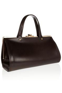 Lanvin|Leather doctor bag|NET-A-PORTER.COM