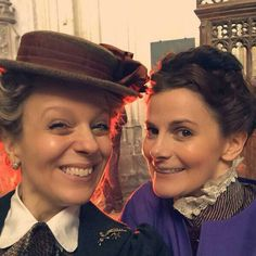 Looks like both our ladies are going to get in on the Victorian fun.  Please let Lestrade be part of it too?!?!?!