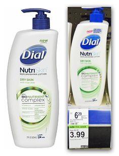 Dial NutriSkin Lotion: $2.99 at Walgreens