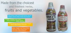 kings herbal - a unique blend of all natural ingredients that gently cleanse and detoxify the body. www.kingsherbalonline.com