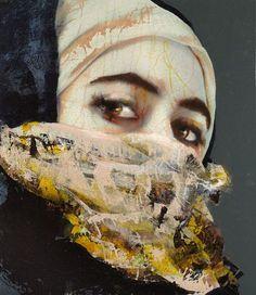 Lita Cabellut - Contemporary Artist - Modern Figurative Painting - Portraits