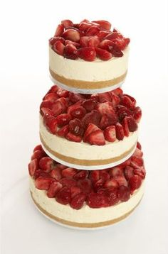 cheesecake! yesss! I love it enough, may just do it.  But with strawberries cut up differently