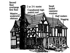 Elizabethan or half timber style