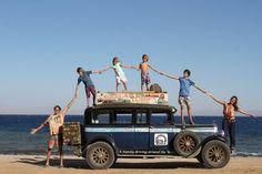 Eine Familie reist17 Jahre lang: Sieben Milliarden Weltwunder - SPIEGEL ONLINE - Reise