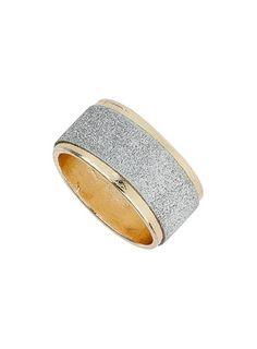 Glitter Band Ring @ Miss Selfridge