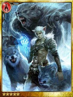 Wolfe, Werewolf Packmaster, legend of the cryptids