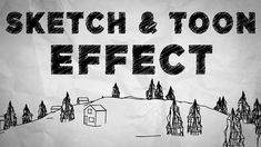 Cinema and After Effects - Creating Sketch and Toon Effect Tutorial Cinema 4d Render, Maxon Cinema 4d, Cinema Film, Cinema 4d Tutorial, 3d Tutorial, Photoshop Tutorial, After Effects, Video Effects, Motion Design