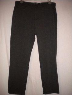 "Gloria Vanderbilt Size 10 X 26"" Inseam Charcoal Slimming Missy Cropped Pants…"