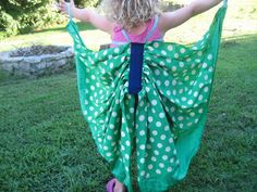 Children's Butterfly Wing Costume