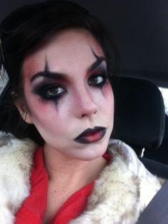 Harley Quinn Interpretation makeup!