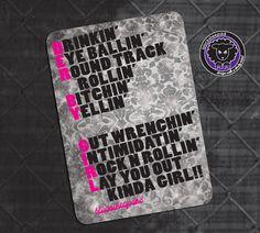 Roller Derby Sticker Derby Girl Definition by blacksheepclothing, $3.00