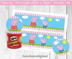 Peppa Pig Mini Pringles Wikkels