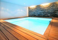 Basement Swimming Pool | swimming pool spa amenities underground interior house