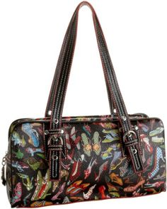 Amazon.com: Sydney Love Stepping Out Collection E/W Satchel: Shoes