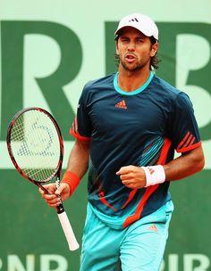 French Open 2012 Tennis Fashion. Fernando Verdasco ~ Trendy Tennis - Tennis Fashion Blog