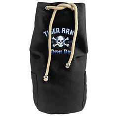 Bandy Tiger Army Band Canvas Drawstring Backpack Bucket Bag * More info could be found at the image url.