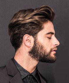 Top 12 Popular Men's Haircuts For Men 2019 - Man Hair Style Brown Straight Hair, Medium Brown Hair, Medium Hair Cuts, Medium Hair Styles, Mens Hair Medium, Thick Hair, Light Brown Hair Men, Medium Length Hair Men, Medium Cut
