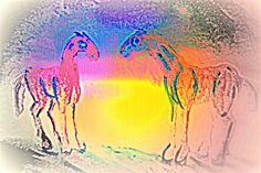 Draft Horses Painting - We Are Like The Horses Of Our Dreams And They Like Us by Hilde Widerberg Framed Prints, Canvas Prints, Cute Animal Videos, Draft Horses, My Horse, Famous Artists, Wood Print, Art Pieces, Tapestry