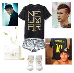 """""""NEYMAR★"""" by ivanov1234491 ❤ liked on Polyvore featuring NIKE, Bling Jewelry and Chanel"""