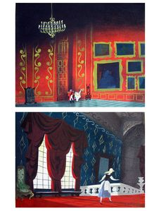 Mary Blair vintage Disney series