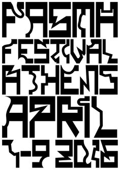 Fasma Festival Design by Studio of the Immaculate Heart