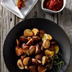 Spanish Tapas Potatoes (Patatas Bravas)