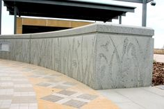 sandblasted concrete - Google Search