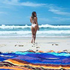 ✨She dreams of paradise✨ ☀🌊Gorgeous summer capture!🌊☀ Our shooting day was just AWESOME!🔝❤ Wanna buy our gorgeous #beachtowels? Our website is almost ready! We'll start the countdown soon!🕒🔜 Stay tuned! 🚨📱 ********************************** ❤Nossa versão do paraíso ❤ 🌊☀Aqui nós somos de mar!☀🌊 Já já você vai poder compartilhar um pouco desse clima incrível da cidade maravilhosa juntinho com a gente: nosso site tá quase pronto! ✨🔝✨🔝✨ Vamos começar a contagem regressiva em…