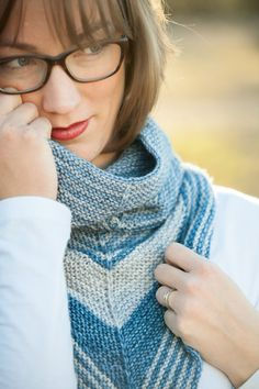 A sweet, kerchief style cowl. Requires 360 yds/329 m of sport weight yarn (100% Merino).