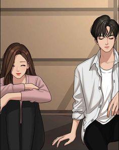 Cute Couple Drawings, Cute Couple Cartoon, Cute Couple Art, Cute Love Cartoons, Anime Love Couple, Anime Couples Drawings, Cute Anime Couples, Girl Cartoon Characters, Cute Love Wallpapers
