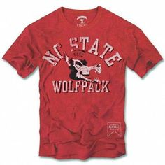 NC State Wolfpack Vintage Rescue Scrum T-Shirt