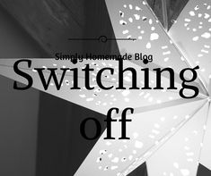 Switching Off for Christmas