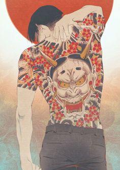 Hannya tattoo (majima goro) in 2019 Anime Art, Japanese Art, Yakuza Anime, Character Art, Art Drawings, Art Sketches, Yakuza Tattoo, Boy Art, Japanese Tattoo