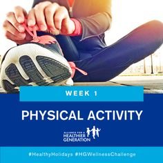 Join the Week 1 starts now! Challenge Week, Physical Activities, How To Stay Healthy, Join, Challenges, Wellness, Holidays, Wedding Ring, Holidays Events