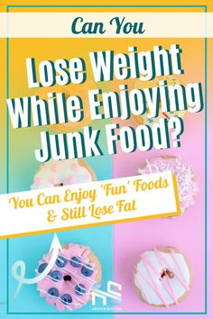 Does the idea of cutting out your favorite foods forever and ever amen sound like an appealing strategy to you? Most people, when planning a diet, don't think about what they're going to do after the diet itself ends. They resort to drastic extremes—no bread! no added sugars! But did you know you can eat these junk foods and still lose weight. This article will teach you how to lose weight and still enjoy fun foods.   healthy weight loss