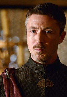 An angry looking Petyr Baelish. ;)