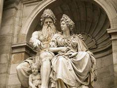Pixel Works: Statue of Zeus and Hera in Albertina Square, Vienna, Austria. Hera Goddess, Mother Goddess, Greek Gods And Goddesses, Greek And Roman Mythology, Zeus E Hera, Statues, Zeus Jupiter, Greek Pantheon, Amaterasu