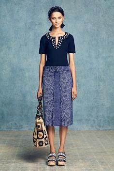 Tory Burch Resort 2013 Fashion Show - Ella Verberne