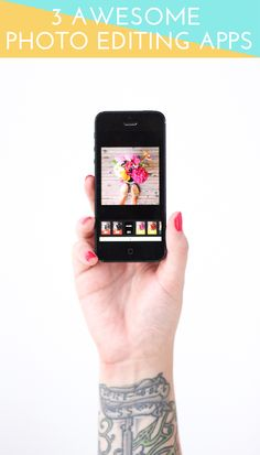 3 Awesome Photo Editing Apps