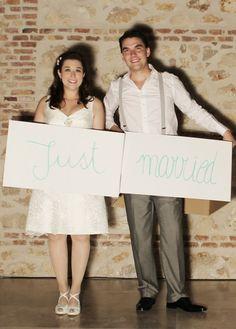La boda de Sylvia y Javi: el Photocall | Presume de Boda Blog A scrabble's photocall