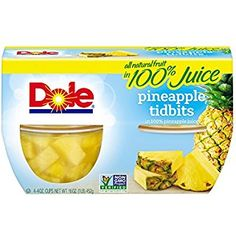 Dole Fruit Bowls, Pineapple Tidbits in Juice, 4 Cups * See this great product. (This is an affiliate link) Dole Pineapple, Pineapple Juice, Fruit Juice, Fresh Fruit, Dole Fruit Cups, Frozen Fruit, Juicing For Health, Nutrition Education, Fresh Vegetables
