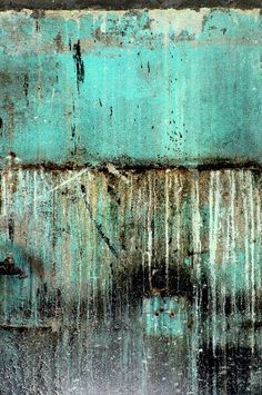 Delray Biker Blues - Wall Abstract by MY PINK SOAPBOX on Flickr. Anahi DeCanio - artist