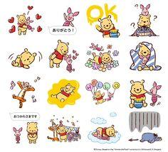 """LINE stempel """"Winnie the Pooh pop! Pop-up"""" nu te koop!"""