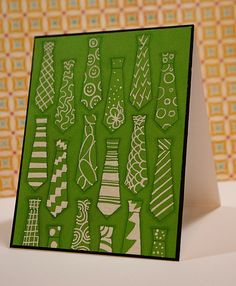 Tobi Crawford ink: Naughty Or Nice Challenge: MEN! Silhouette Machine, Copics, Cas, Card Ideas, Mixed Media, Challenges, Stamp, Nice, Green