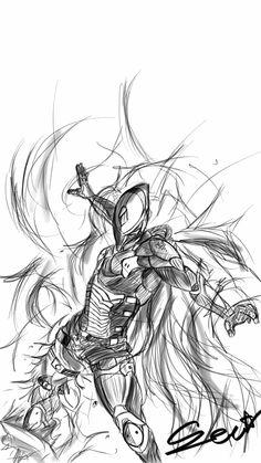 [warframe] Excalibur Proto Armor by Seon-U.deviantart.com on @DeviantArt