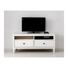HEMNES TV-Bank - weiß gebeizt - IKEA - schmalere Variante