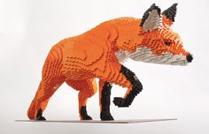 Lego Sculptures Inspired by Nature #Art, #Lego, #Nature, #Sculpture
