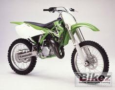 2002 Kawasaki kx 125 I love this bike!  It was FUN!  I had this about 12 years ago.